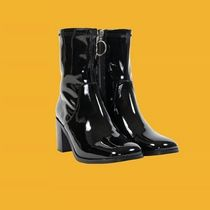 UNIF Clothing Casual Style Street Style Plain Rain Boots Boots