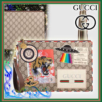 GUCCI Cambus 2WAY Other Animal Patterns Clutches