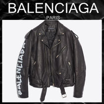 BALENCIAGA Leather Biker Jackets
