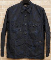 RRL Camouflage Long Sleeves Cotton Shirts