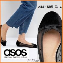 ASOS Dots Round Toe Casual Style Ballet Shoes