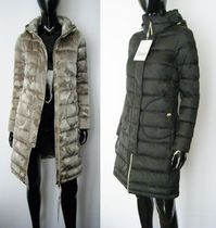 HERNO Camouflage Plain Long Down Jackets