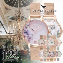 Olivia Burton Round Quartz Watches Elegant Style Analog Watches