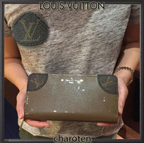 Louis Vuitton ZIPPY WALLET Monoglam Unisex Calfskin Plain Long Wallets
