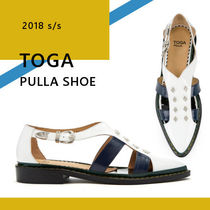 TOGA Leather Slip-On Shoes