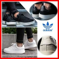 adidas STAN SMITH Unisex Suede Street Style Sneakers