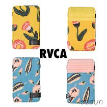 RVCA Flower Patterns Tropical Patterns Unisex Street Style