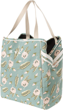 Flower Patterns Tropical Patterns Casual Style Unisex Canvas