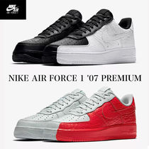 Nike AIR FORCE 1 Street Style Bi-color Sneakers