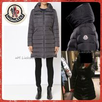 MONCLER FLAMMETTE Street Style Plain Long Special Edition Down Jackets