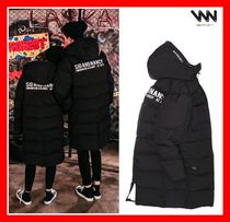 WV PROJECT Casual Style Unisex Street Style Long Down Jackets