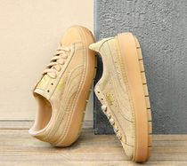 PUMA SUEDE Platform Casual Style Suede Street Style