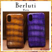 Berluti Other Animal Patterns Leather Smart Phone Cases