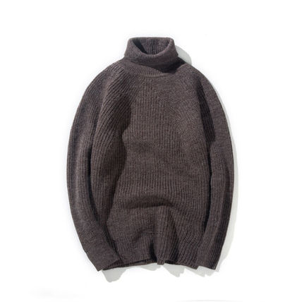 Knits & Sweaters Long Sleeves Plain Knits & Sweaters 10
