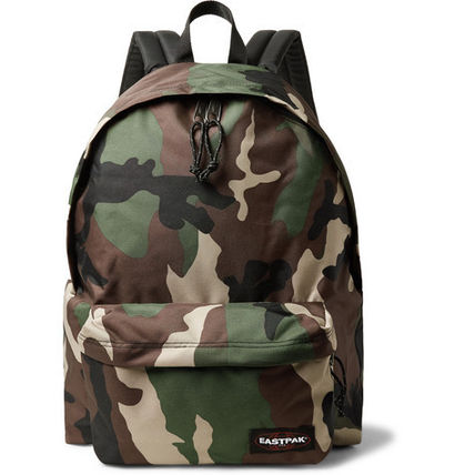 Camouflage Canvas Backpacks