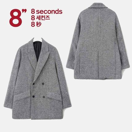 Other Check Patterns Wool Jackets