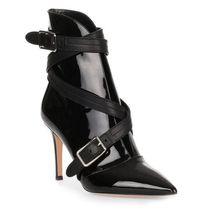 Gianvito Rossi Enamel Pin Heels Ankle & Booties Boots