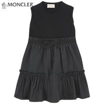 MONCLER Blended Fabrics Petit Kids Girl Dresses