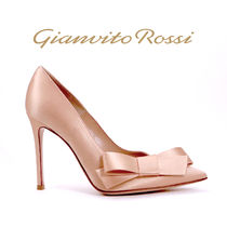 Gianvito Rossi Pin Heels Party Style Pointed Toe Pumps & Mules