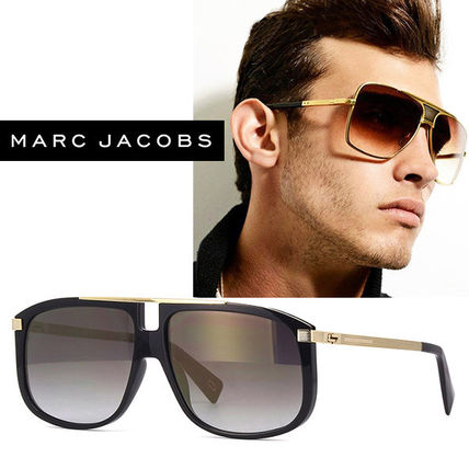6a7570d60f ... Marc by Marc Jacobs Sunglasses Unisex Square Oversized Sunglasses ...