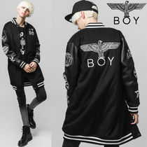 BOY LONDON Unisex Plain Long MA-1 Bomber Jackets