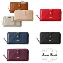 marc AND graham Plain Leather Long Wallets