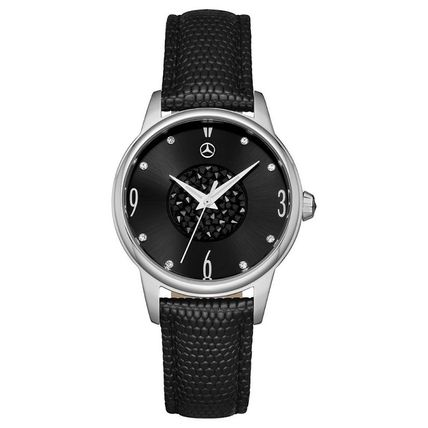 Round Quartz Watches Stainless With Jewels Elegant Style