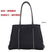 Neo The Label Casual Style A4 Plain Totes