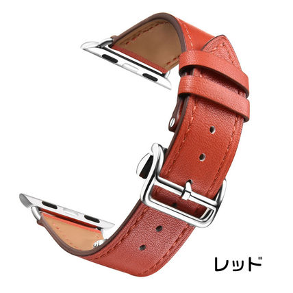 More Watches Unisex Leather Apple Watch Belt Watches 2