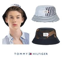 Tommy Hilfiger Unisex Bucket Hats Wide-brimmed Hats