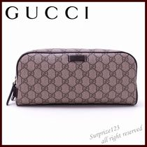 GUCCI Monogram Canvas Clutches