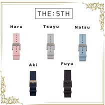 The Fifth Watches Casual Style Unisex Leather Watches