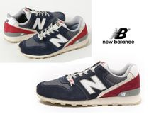 New Balance 996 Rubber Sole Casual Style Suede Street Style Plain
