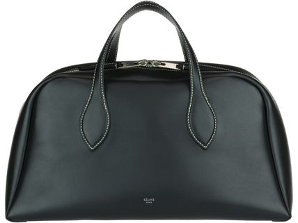 CELINE Boston & Duffles Calfskin A4 Plain Boston & Duffles