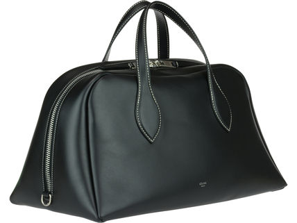 CELINE Boston & Duffles Calfskin A4 Plain Boston & Duffles 2