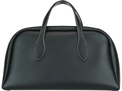 CELINE Boston & Duffles Calfskin A4 Plain Boston & Duffles 3