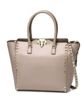 VALENTINO Plain Leather Bags