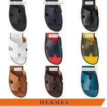 HERMES Leather Loafers & Slip-ons
