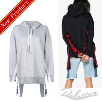 Stella McCartney Long Sleeves Plain Cotton Long Hoodies & Sweatshirts