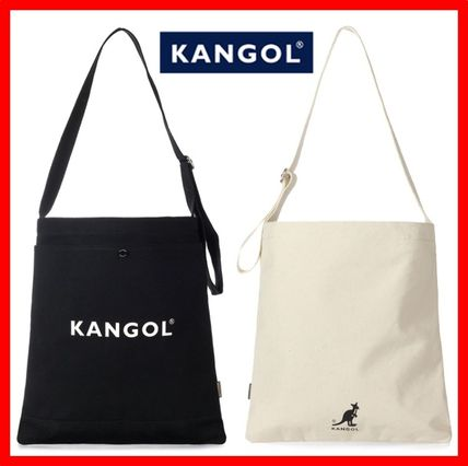 Casual Style Unisex Canvas Street Style Totes