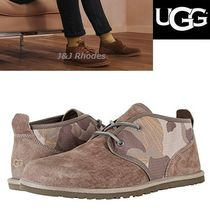 UGG Australia Camouflage Suede Chukkas Boots
