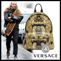 VERSACE Nylon Backpacks