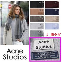 Acne Wool Plain Heavy Scarves & Shawls