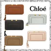 Chloe Marcie Calfskin Long Wallets