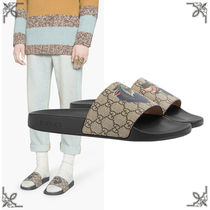 GUCCI Monoglam Blended Fabrics Street Style Other Animal Patterns