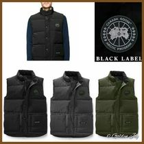 CANADA GOOSE FREESTYLE VEST Short Plain Down Jackets