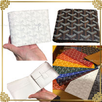 GOYARD Saint Louis Leather Folding Wallets