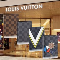 Louis Vuitton DAMIER Unisex Passport Cases