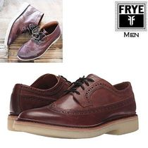 FRYE Wing Tip Plain Leather Shoes
