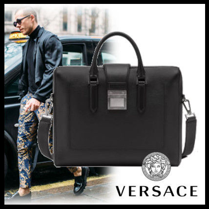 ... VERSACE Business   Briefcases Calfskin 2WAY Plain Business   Briefcases  ... 133b0d9d30